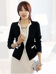 Women's fashion big yards small suit jacket OUTW17