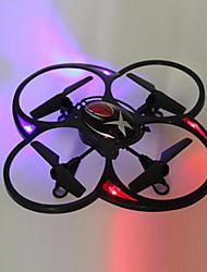 2.4g 4ch rc quadcopter econômicos com luz em vermelho e roxo