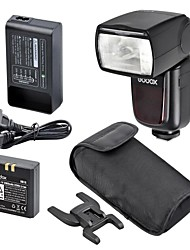 Godox Kit v860n Flash batteria Li-ion i-TTL master e slave per flash wireless nikon