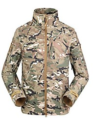 ESDY TAD US Active-duty Rangers Designated Section Commander Level Jackets Mens` Camouflage Outdoor Jacket