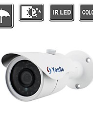YanSe® 1000TVL HD IR Camera 24-LED CCTV Surveillance Bullet Night Vision Outdoor/Indoor Camera 731CF