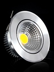 5W Luces de Techo / Luces de Panel Luces Empotradas 5 COB 400-500 lm Blanco Fresco AC 85-265 V
