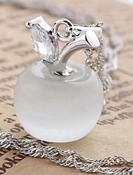 925 prata a nova moda maçã vermelha colar de pingente de mulheres