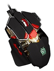 JSYZ L10 personalized gaming mouse Mechanical custom and macroprogramming metal mice pro game mouse for LOL WOW CF