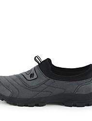 мужская обувь круглого Toe плоский каблук ткани бездельников обувь более цветов