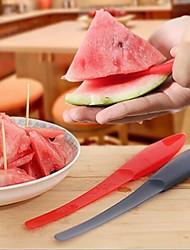 Многофункциональные, пластиковые ножи для арбуза,23,5 × 3 × 1,5 см (9,3 × 1,2 × 0,6 дюймов) случайный цвет