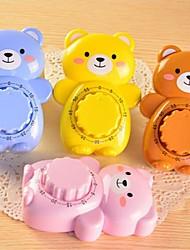 Bear Shape Timer,Plastic 11×7.5×1.3 CM(4.4×3.0×0.6 INCH) Random Color
