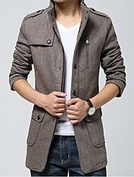 Men's Korea Fashion Work and Casual Coat Long Sleeve