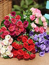 décoration de mariage 25 roses artificielles dans une décoration de la maison tas de décoration