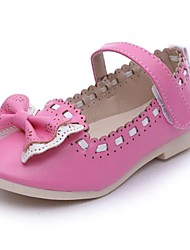 Girls' Shoes Mary Jane Round Toe  Flat Heel  Flats with Bowknot More Colors available