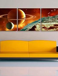 e-home® relógio interestelar em lona 3pcs