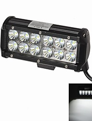"KAWELL 36W 6.6"" CREE LED for ATV/boat/suv/truck/car/atvs Driving light Off Road Waterproof Led Flood Work Light"