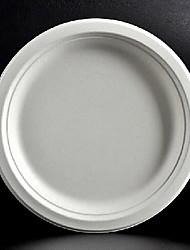 9 pollici rotonda monouso piatti di carta 50pcs / bag