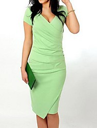 Women's Fashion Candy Color OL Party Dress (More Colors)