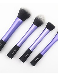 4 Makeup Brushes Set Synthetic Hair Face / Lip / Eye Others