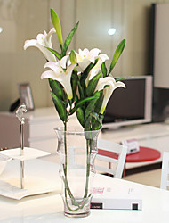 Набор из 3-поддельные о.е. цветами лилии, смолы случайный цвет