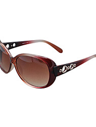 Sunglasses Women's Classic / Retro/Vintage / Sports / Polarized Oversized Wine Sunglasses Full-Rim