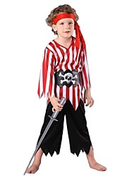 rayés pirate marin enfants de halloween costumme