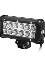 dy-sc6036 36w 3060lm 6000K 12-CREE LED weißes Licht Flutstrahl Geländelampe (10-30 V DC, schwarz)