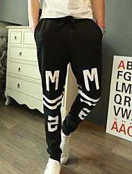 la mode image impression sueur pantalons pour hommes