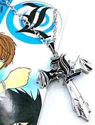 death note l simbolo collana cosplay modello di croce