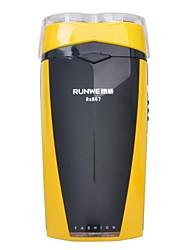 runwe rs867 2-lama rasoio elettrico ricaricabile (220v)