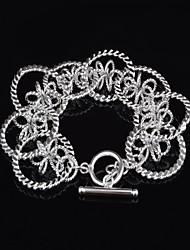 Woman's Fashion Personality  Silver  Delicate Design Bracelet