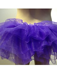 spectacles multicolore jupe tutu de gaze jupe costume de carnaval