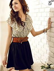 polka de mode les points de Letitia femmes robe