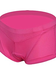 oeste cortos paseos a biking® ropa interior para bicicleta ciclismo transpirable 3d gel escritos almohadilla elástica tamaño hembra s-2xl