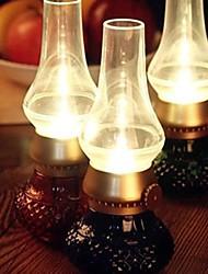 lampe à pétrole lampe de lumière de nuit conduit
