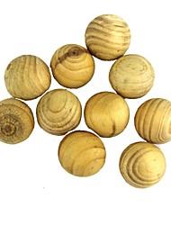 camphre naturel arbre ménages insectifuge désodorisation boules à mites - bois (10pcs)