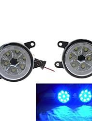 alta potência 18w 1200ml 6000k luz LED azul olhos de anjo de luz de nevoeiro para suzuki