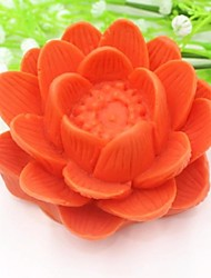Lotus Flower Shaped Chinese Style Fondant Cake Silicone Mold