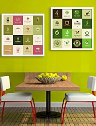 e-HOME arte lienzo enmarcado, marque Ajuste impresión lienzo enmarcado de 2