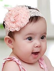 Girl's Lace Big Roses Headband