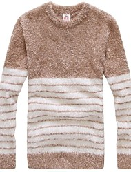 Men's Retro Round Neck Knit Sweater