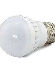 3W E26/E27 Круглые LED лампы 6 SMD 5730 280 lm Тёплый белый / Холодный белый Декоративная AC 85-265 V