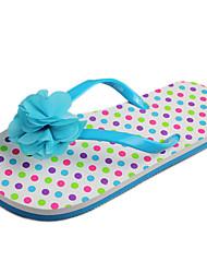 Zapatillas ( Azul ) - Chancletas - Satén