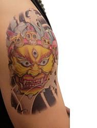 1 шт водонепроницаемый цвет фигуры трех eyetiger рисунок татуировки наклейки