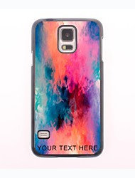 Personalized Phone Case - Colorful Stripe Design Metal Case for Samsung Galaxy S5
