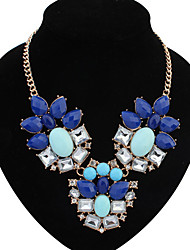 Colorful day  Women's European and American fashion necklace-0526051