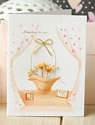 The Flower Basket Mini Thank You Card Gift Card