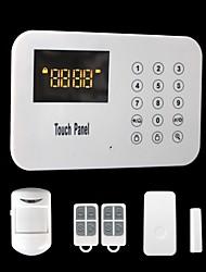 Wireless Touch Keypad PSTN House Alarm System