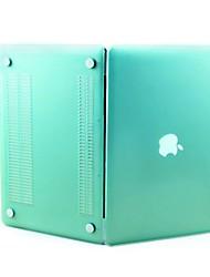 """sench borracha fosco fosco revestido clipe de casca dura caso snap-on tampa da pele para Apple MacBook Pro 15.4 """"- a1286"""