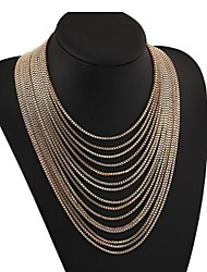 Masoo Women's Hot Selling Luxury Multilayer Necklace