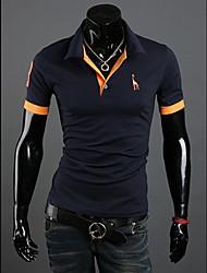 la mode casual manches courtes Tee-shirts hommes de Paul