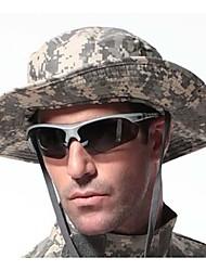 camouflage ESDY pêche en plein air en polyester coupe-vent ombre des bords arrondis chapeau ben népalais acu