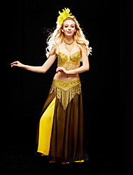 Belly Dance Accessory Women's Charming Training Outfits Including Bra&Belt&Necklaces (More Color)