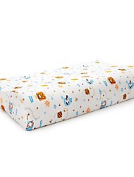 """20""""×12"""" Paradisaea Contour Memory Foam Pillow With Fun Cartoon Cotton Cover For Children Ages 6-16"""